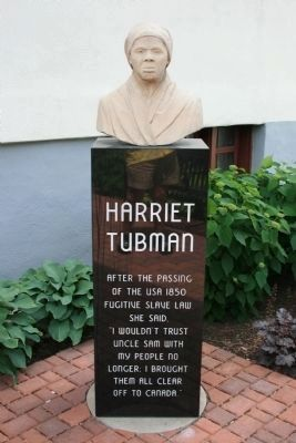 Harriet Tubman Marker image. Click for full size.