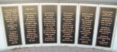Jack Kilby Monument Markers image. Click for full size.