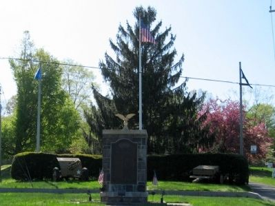 Haddam Veterans Monument image. Click for full size.
