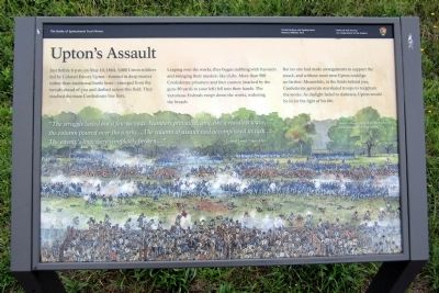 Upton�s Assault Marker image. Click for full size.