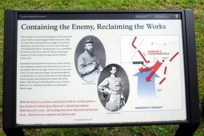 Containing the Enemy, Reclaiming the Works Marker image. Click for full size.
