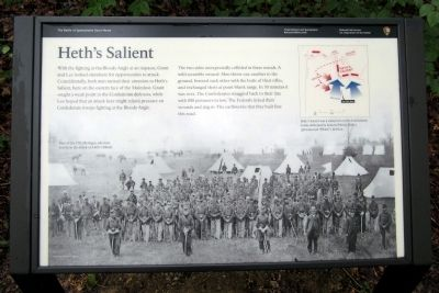 Heth�s Salient Marker image. Click for full size.
