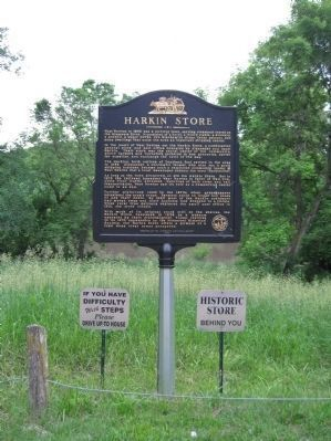 Harkin Store Marker image. Click for full size.
