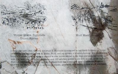 Winter storm pummels Union forces & Mud March misery image. Click for full size.