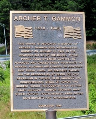 Archer T. Gammon Marker image. Click for full size.