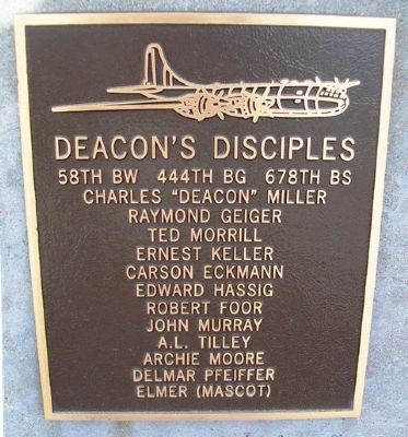 Deacon's Disciples Marker image. Click for full size.
