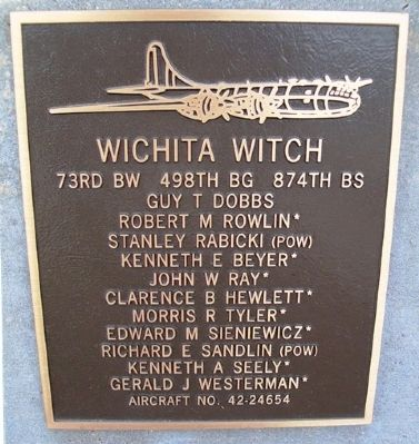 Wichita Witch Marker image. Click for full size.
