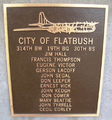 City of Flatbush Marker image. Click for full size.