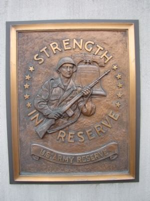 US Army Reserve plaque image. Click for full size.
