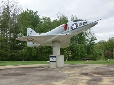 A4D-2 (A-4B) Skyhawk Marker image. Click for full size.