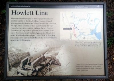 Howlett Line Marker Photo, Click for full size