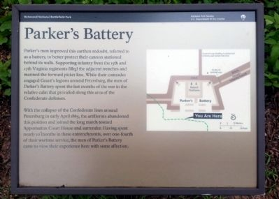 Parker's Battery Marker image. Click for full size.