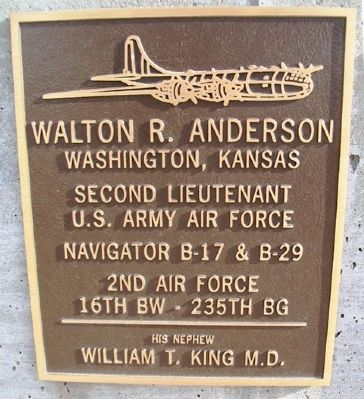 Walter R. Anderson Marker image. Click for full size.