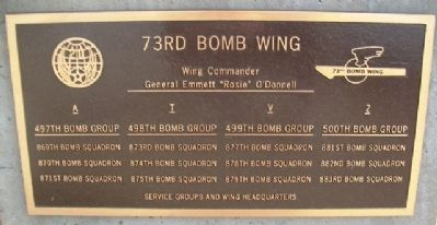 73rd Bomb Wing Marker image. Click for full size.