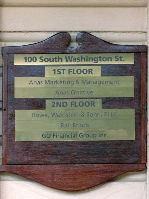 100 South Washington Street<br>Current Occupants image. Click for full size.