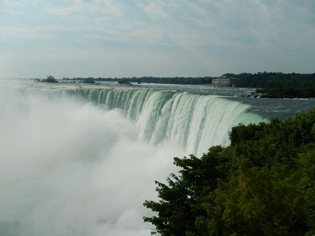 Horseshoe Falls on Canadian Side image. Click for full size.