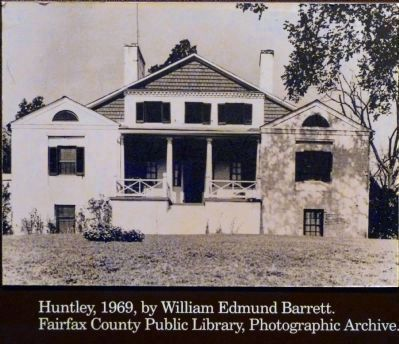 Huntley, 1969,<br>By Edmund Barrett. image. Click for full size.