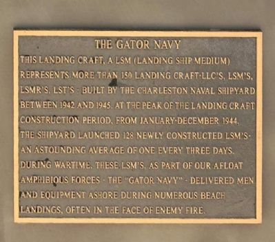 The Gator Navy Marker image. Click for full size.