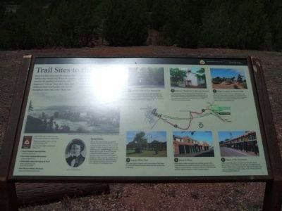 Santa Fe Trail Interpretive Material Photo, Click for full size
