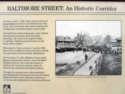 Baltimore Street - An Historic Corridor image. Click for full size.