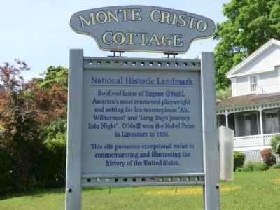 Monte Cristo Cottage Marker image. Click for full size.