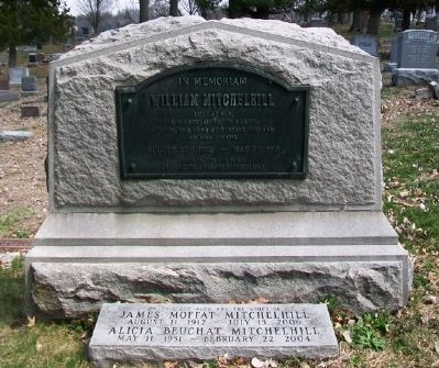 William Mitchelhill Monument image. Click for full size.