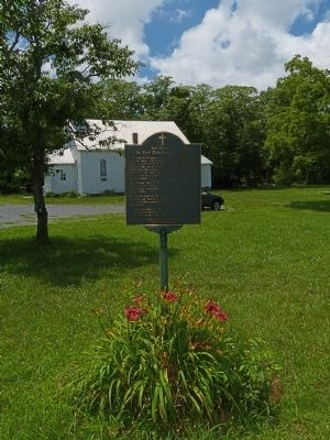 The Historic St. Paul Community Church Marker image. Click for full size.