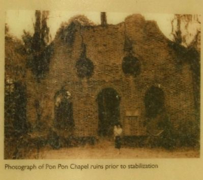 Pon Pon Chapel Marker image. Click for full size.