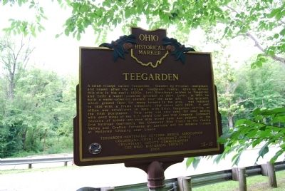 Teegarden Marker image. Click for full size.
