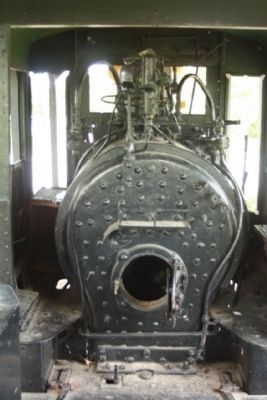 Narrow Gauge Locomotive No. 7 , inside the cab image. Click for full size.