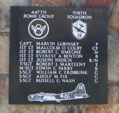 447th Bomb Group 708th Squadron image. Click for full size.