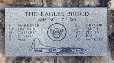 447th Bomb Group 711th Sq image. Click for full size.