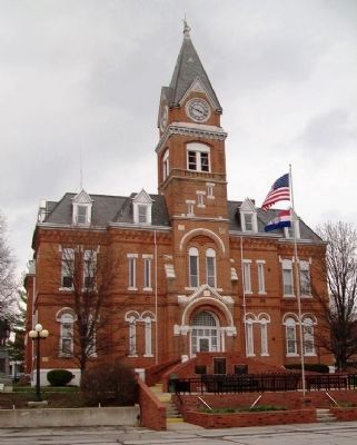 Gentry County Courthouse image. Click for full size.