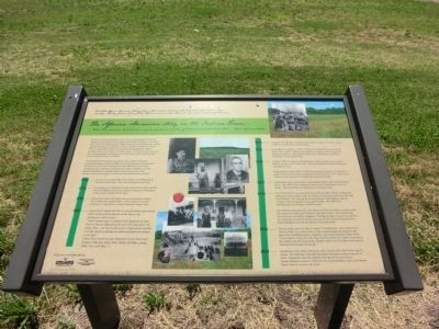 The African American Story in the Indian Town Marker image. Click for full size.
