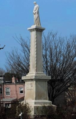 Arsenal Fire Monument -- Congressional Cemetery image. Click for full size.
