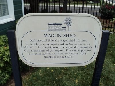 Wagon Shed Marker image. Click for full size.