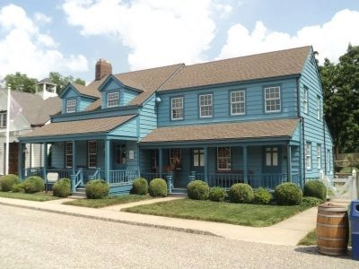 The Blue House at Liberty Hall Museum image. Click for full size.