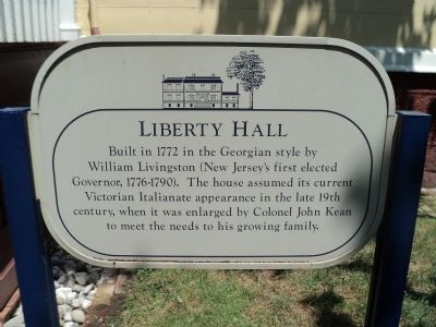 Liberty Hall Marker image. Click for full size.