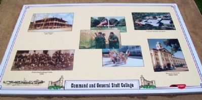 U.S. Army Command and General Staff College Marker image. Click for full size.