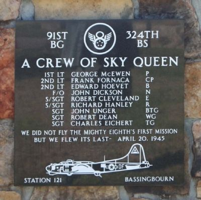 A Crew Of Sky Queen Marker image. Click for full size.