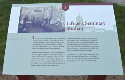 Life as a Seminary Student image. Click for full size.
