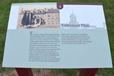 Valentine Hall Marker image. Click for full size.