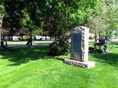 Branch County World War I Memorial image. Click for full size.