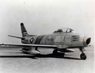 F-86 during the Korean War, as mentioned image. Click for full size.