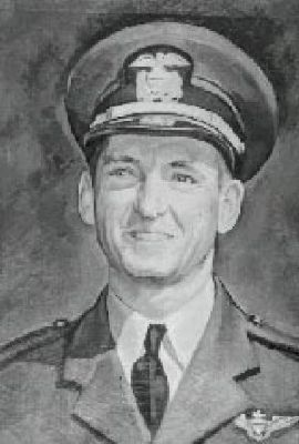 Navy Lt. Seymour A. Johnson image. Click for full size.