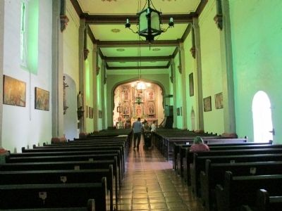 Mission San Gabriel Chapel image. Click for full size.