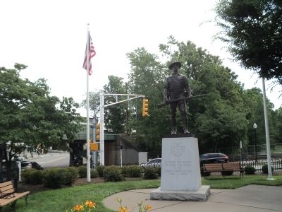 Morristown Spanish American War Memorial image. Click for full size.