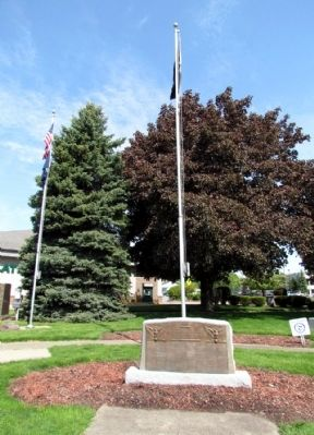 Branch County World War II Memorial image. Click for full size.