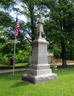 Allen Civil War Monument image. Click for full size.