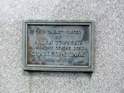 Allen Civil War Monument Marker image. Click for full size.